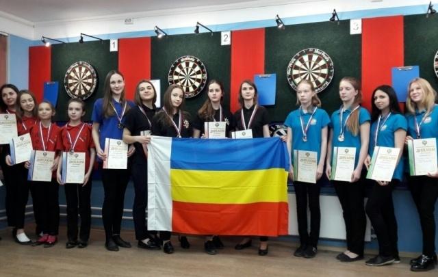 Ростовчане завоевали 14 медалей на первенстве России по дартсу