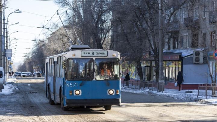 В Волгограде на маршрут вышли похорошевшие троллейбусы №9