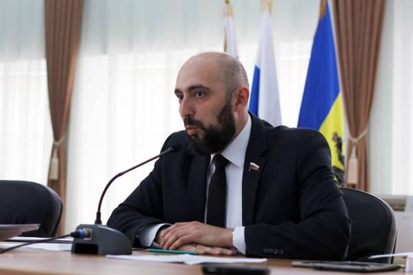 Зампредседателя гордумы Новочеркасска Андрей Карабедов