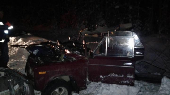 В Пинежском районе пассажир «шестерки» погиб при столкновении с иномаркой