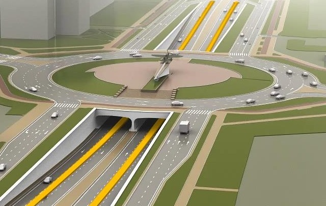 В конце мая на пересечении Московского шоссе и Кирова начнут готовить площадку под «Ил-2»