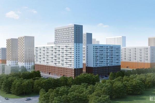 Новый квартал заэскизирован в достаточно минималистичном стиле, со зданиями переменной этажности.
