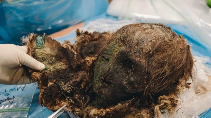 Тюменские ученые установили примерный возраст мумии, найденной в Зеленом Яру