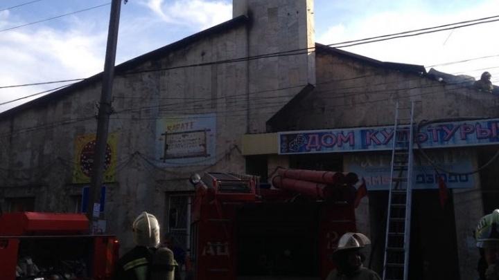 В Азовском районе взамен сгоревшего Дома культуры построят новый