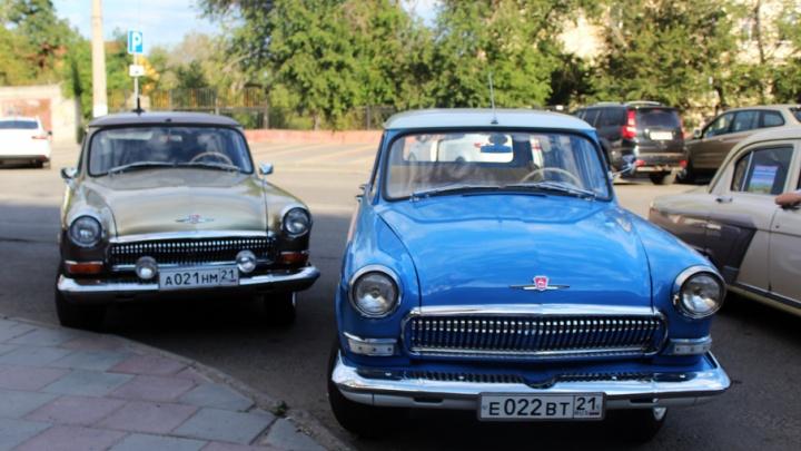 Ретроавтомобили из Чебоксар спустя пять лет доехали до Волгограда