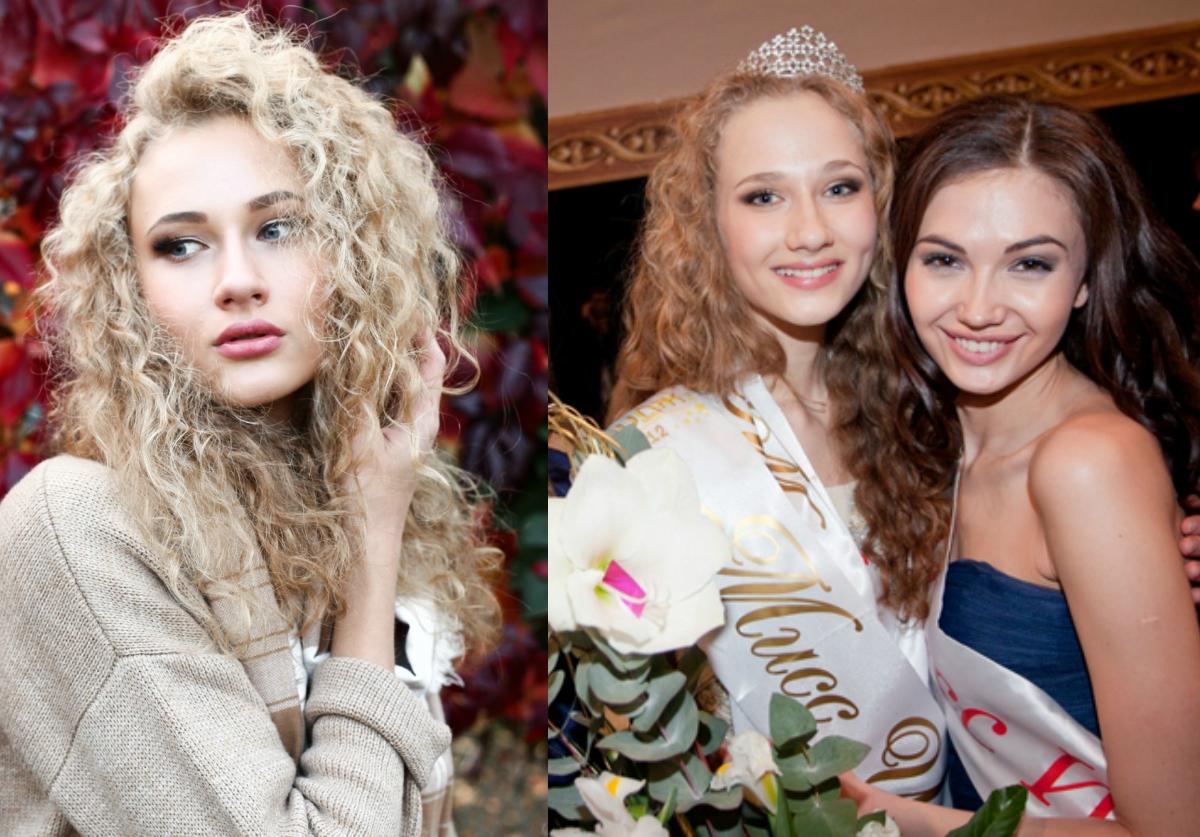 Ксения сейчас и пять лет назад с «Мисс Имидж - 2009» Эллой Шаламовой