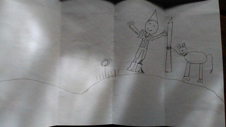 «Илюша, приезжай к нам на печь»: девочка из Самары написала письмо русскому богатырю