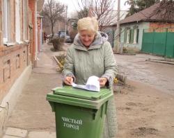 «Чистый город» приступил к пилотному проекту «Каждому дому – свой контейнер»