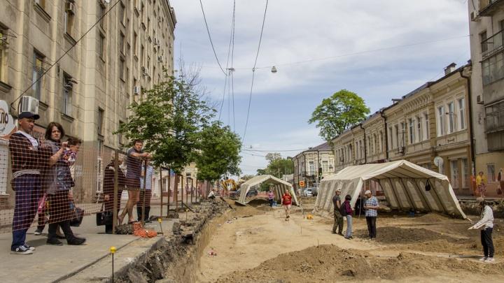 Археологи обнаружили уже 65 могил людей и животных в Ростове на улице Станиславского