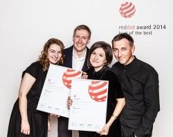 Фирменный стиль ПЗСП взял Гран-при премии Red Dot Design