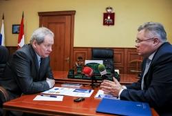 Виктор Басаргин и Вячеслав Белов обсудили итоги совместной работы