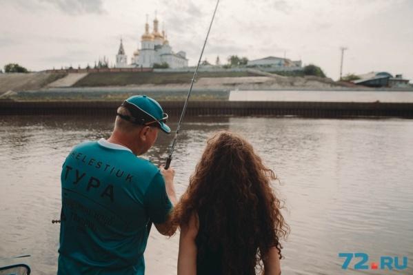 Любимое место для рыбалки у тюменцев – река Тура