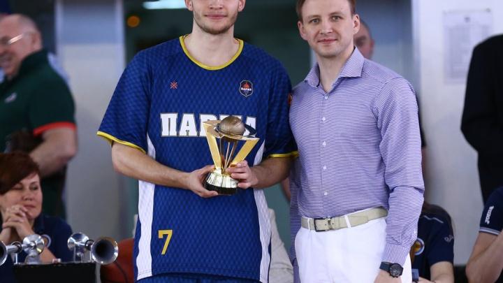 Пермяк Иван Ухов признан лучшим молодым игроком Единой Лиги ВТБ