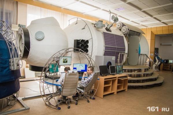 Так выглядит макет модуля МКС