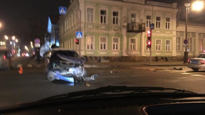 В ДТП на улице Республики пострадала пятилетняя девочка