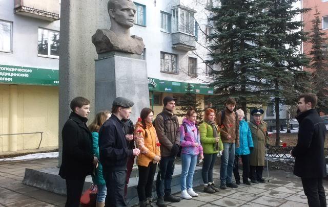 Ко Дню космонавтики в Архангельске обновят памятник Юрию Гагарину