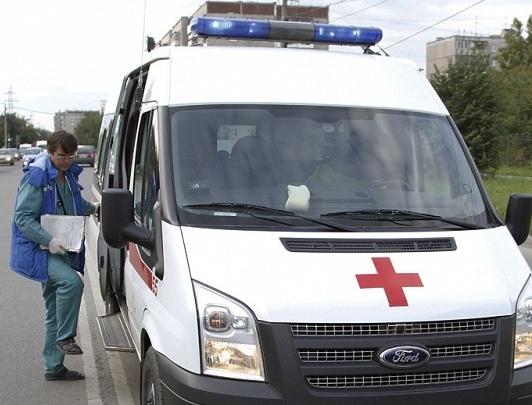 Полицейский сбил двух детей в центре Челябинска