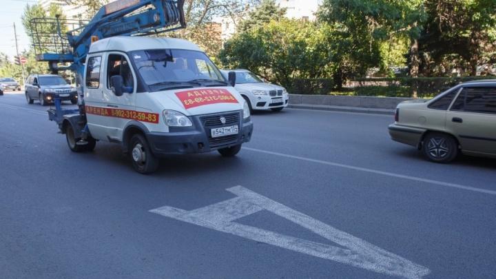 Эвакуаторы за два месяца утащили 400 машин из центра Волгограда