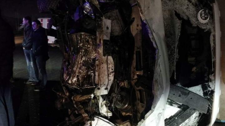 Полиция назвала причины страшной аварии на шоссе Авиаторов в Волгограде