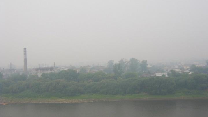В МЧС рассказали, откуда в Тюмени появился смог