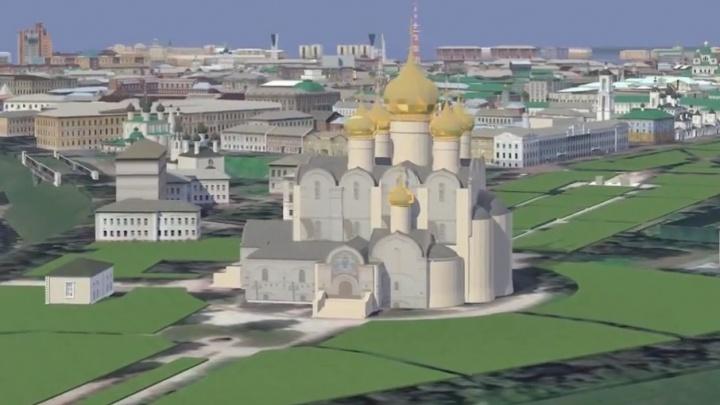 Архитекторы создали огромную 3D-модель Ярославля