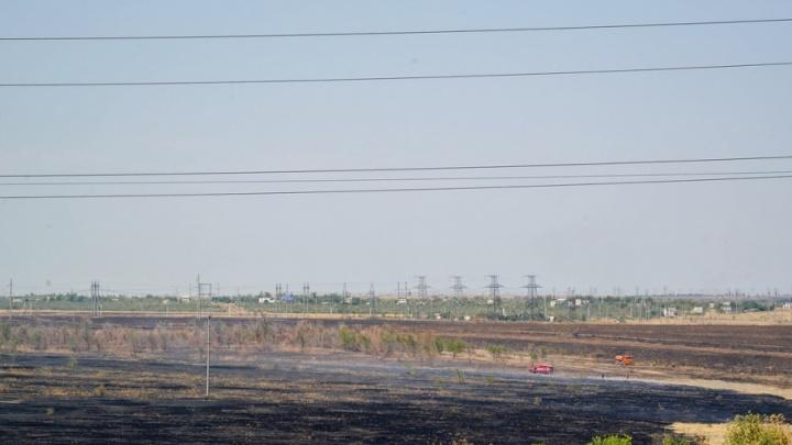 Под Волгоградом потушен пожар площадью 900 гектаров