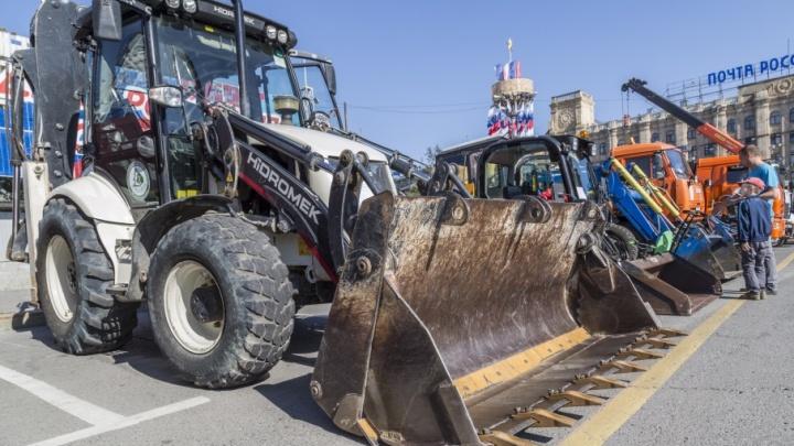 На набережной Волгограда пройдет парад коммунальной техники