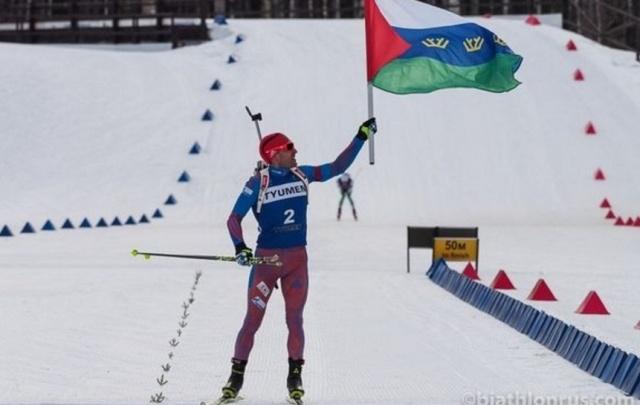 Евгений Гараничев выиграл масс-старт чемпионата России по биатлону