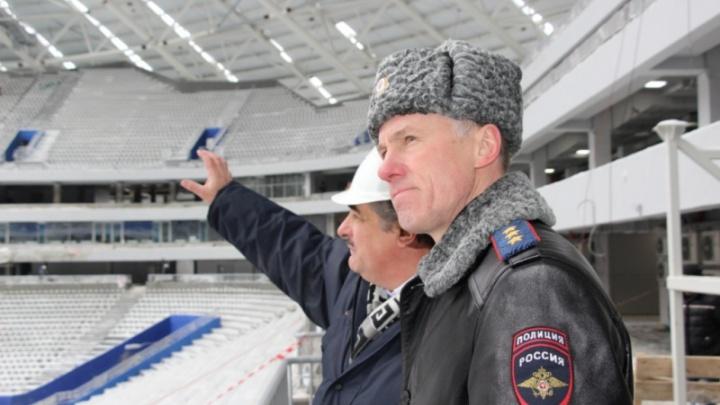«Пожалуйста, не расслабляйтесь!»: замглавы МВД России проверил, как самарская полиция готовится к ЧМ