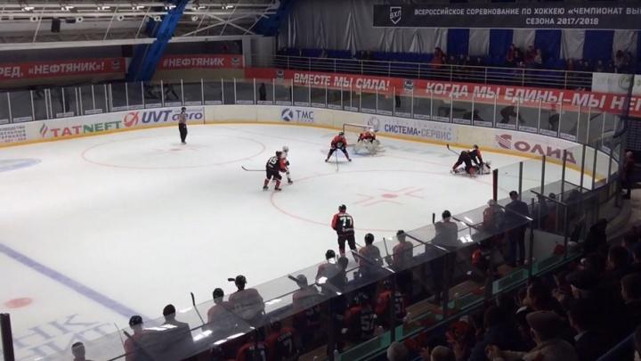«Мы так хотели победить»: самарские хоккеисты разгромили «Южный Урал» в матче ВХЛ