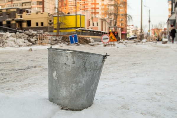 Понедельник в Архангельске начался с ремонтов