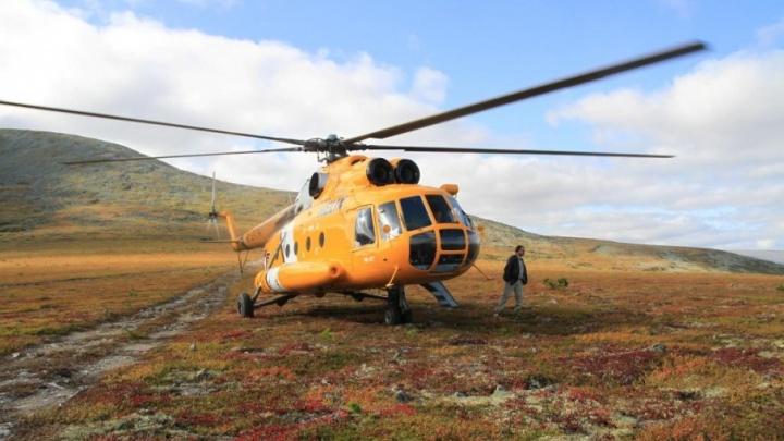 Пермяки за день облетели на вертолете два заповедника, чтобы сфотографировать природу Урала