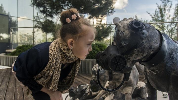 В Ростове прошла выставка в стиле киберпанк: фотоподборка от 161.ru