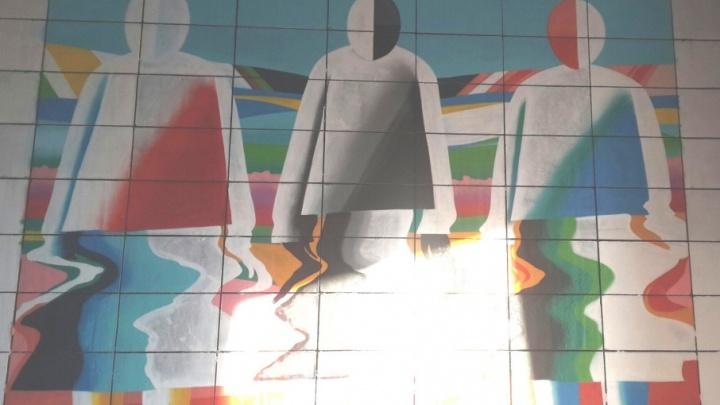 К «Ночи музеев» стены музея ИЗО украсили новые граффити по картинам Малевича и Пикассо