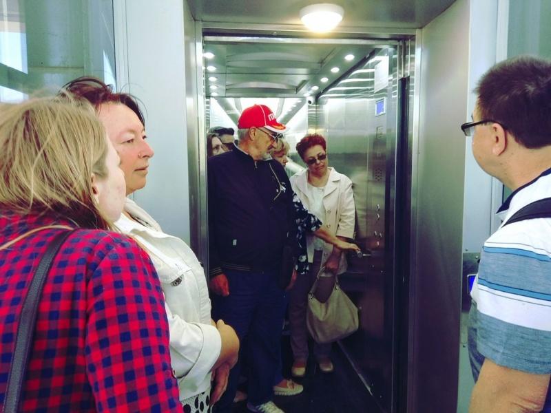 Лифт на  Ворошиловском
