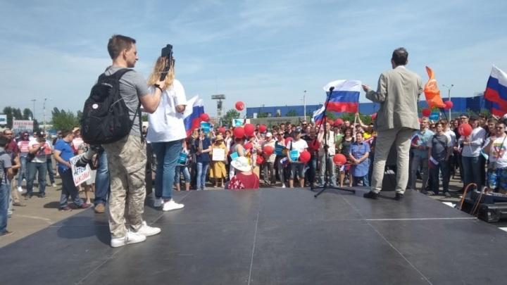 На митинге в Ростове сторонники Навального потребовали вернуть выборы сити-менеджера