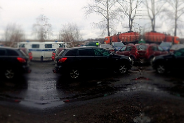 Трагедия произошла во дворе рядом с домом на Гидролизной, 19