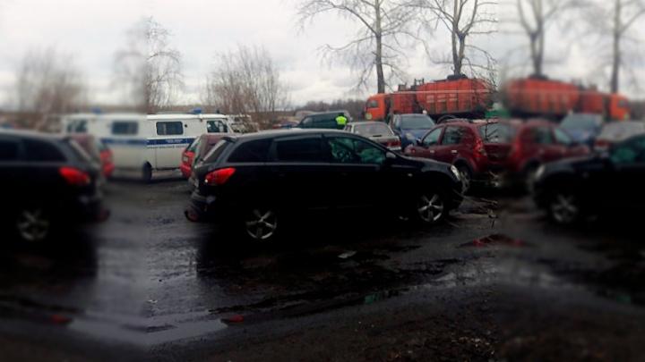 В Маймаксе водитель мусоровоза сбил пенсионерку насмерть