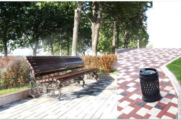 В парке обновят асфальтное покрытие