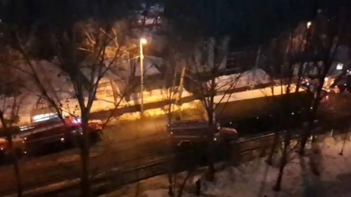 В Самарском университете путей сообщения произошел пожар