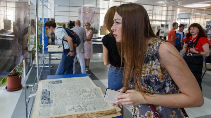 Выставка раритетных книг и уникальных фотографий открылась в Волгограде