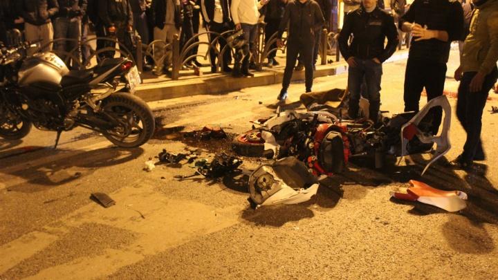 ГИБДД о причинах смертельного ДТП у Драмтеатра: «Лада» не пропустила мотоциклиста