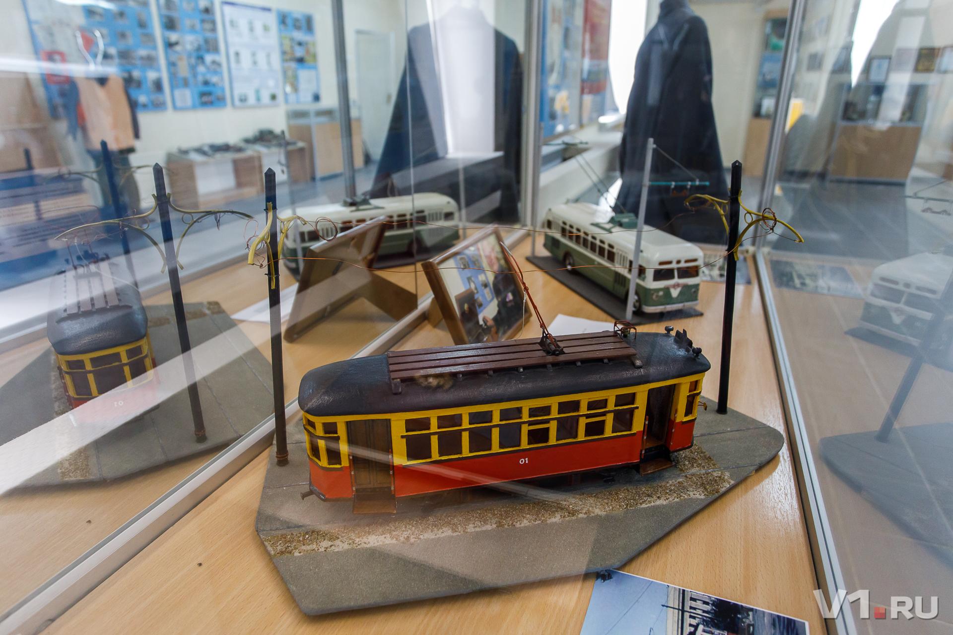 Музей истории волгоградского электротранспорта работает уже 18 лет