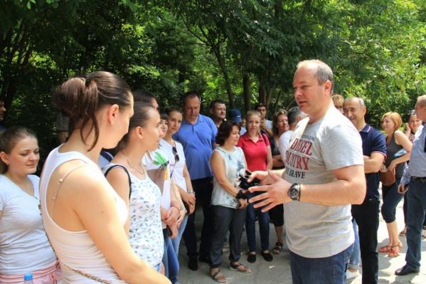 Виталий Кушнарёв поучаствовал в субботнике