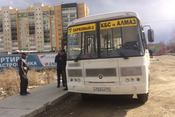 Раньше маршрутки 77 заезжали на улицу Петра Столыпина