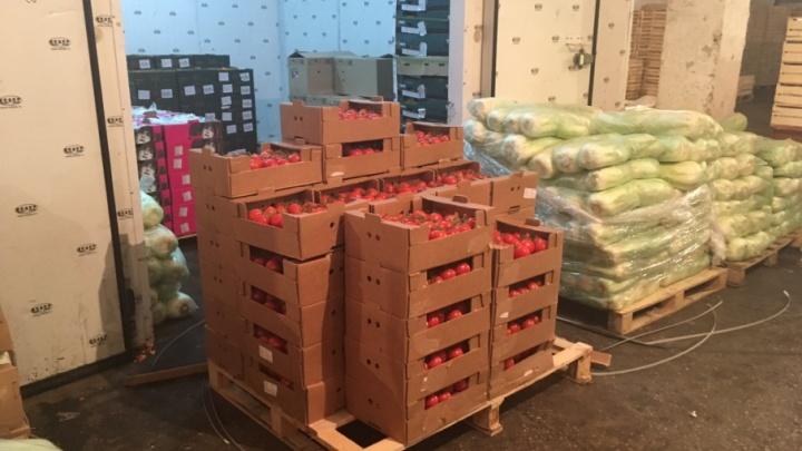 На овощной базе в Самаре уничтожили 288 кг санкционных томатов