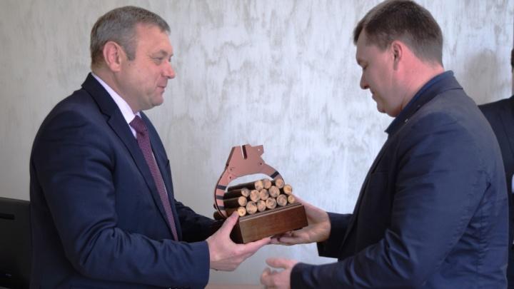 «Карпогорылес» получил серебро конкурса «Лучшее предприятие лесного комплекса в Архангельской области»