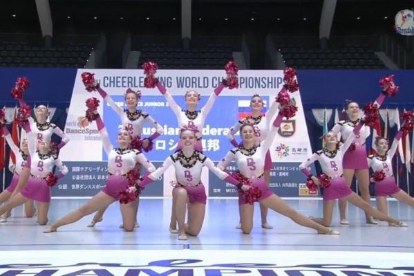 В этом году на чемпионате мира по чирлидингу Россию представляли спортсменки из Пермского края