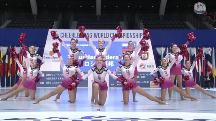 Прикамье впереди: пермяки на чемпионате мира по чирлидингу взяли пять призовых мест