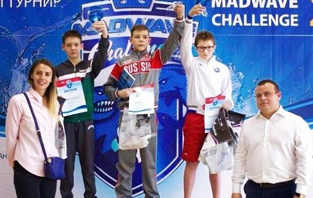 Архангельский пловец завоевал три медали на всероссийских соревнованиях